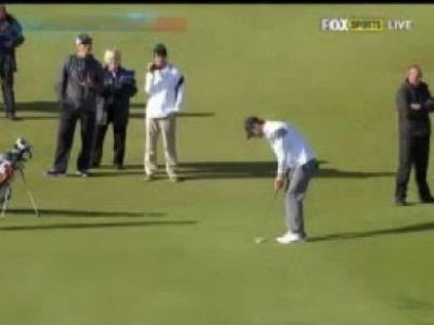 VIDEO Phelps e GENIAL! Cel mai tare olimpic din istorie s-a apucat de golf! Lovitura INCREDIBILA care l-a lasat masca pe Tiger Woods!