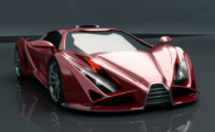 FOTO Sarbii s-au apucat de SUPER MASINI! Asa arata Exona coupe, masina care combina doua Ferrari-uri de LEGENDA: