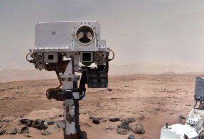 FOTO E cineva acolo? Cei de la NASA sunt UIMITI dupa primele imagini trimise de Curiosity de pe Marte! Imaginea care face inconjurul lumii:
