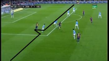 Mourinho TURBEAZA dupa faza asta! Barcelona a dat gol dintr-un offside SCANDALOS! Pasa GENIALA a lui Villa i-a luat mintile arbitrului