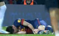 Momentul in care toata Barcelona a inlemnit! Messi a urlat de durere in cel mai important meci! Ce a spus Tito despre starea jucatorului: