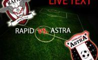 HAOS in Giulesti! Rapid 0 - 2 Astra, iar fanii cer echipa in Liga 2! Tembo a marcat o DUBLA, Astra a urcat pe doi in clasament!
