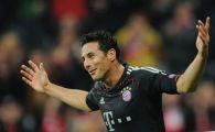 Toate planetele s-au aliniat pentru el! E FABULOS ce a reusit sa faca Pizarro pentru Bayern! Niciodata in istoria Ligii nu s-a mai intamplat asa ceva