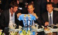 Ca de la Superstar la Superstar! Federer a oferit raspunsul zilei: ce a spus cand a fost comparat cu Messi si Maradona!