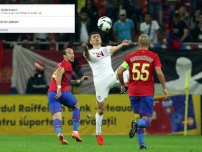 DILEMA ZILEI: pe contul de Facebook al unui jucator de la Rapid a aparut un mesaj! L-a postat jucatorul, sau contul a fost spart de un fan rapidist? :)