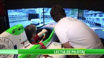 Marinescu si-a construit simulator de F1 ca sa se antreneze pentru Vettel si Alonso! Cum arata INVENTIA care-l duce printre BOGATII din Formula 1