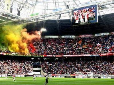 Cu cine joaca Steaua! Momentele cand la Ajax s-a 'cantat' istoria! Steaua poate visa la o asemenea atmosfera! Ce s-a intamplat pe stadion! VIDEO: