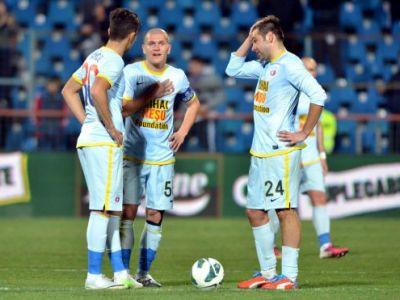 ALARMA la Steaua: Rusescu, accidentat de Chipciu! Cum l-a imitat golgheterul Stelei pe Torres