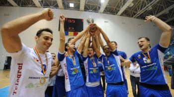 Eventul e cel mai dulce moment pentru un sportiv! Campionii de la Tomis Constanta au castigat si Cupa Romaniei la volei!
