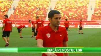 Interzis la GRATARE! :) Cum s-au chinuit fotbalistii de 1 mai! Totul ca sa fie pregatiti pentru Derby de Romania! VIDEO