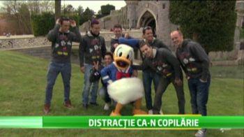 Zeii din Moto GP au facut SHOW la Disneyland! Cum s-au distrat in cel mai tare parc al copilariei