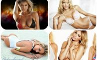 Duelul SECOLULUI intre modele: Kate Upton vs Candice Swanepoel! Care e cel mai bun top model? VIDEO HOT