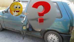 """Imagini INCREDIBILE! Ce au descoperit doi politisti in masina unui taran: """"Nu-mi venea sa cred ce vad"""""""