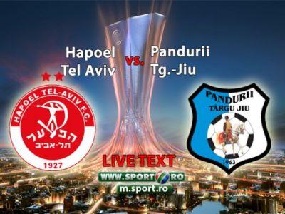 <br /> Ce seara MAGICA: Pandurii e in playoff dupa victoria fantastica din Israel: 2-1 cu Hapoel! Eric si Ciucur au intors scorul pentru un rezultat istoric!<br />