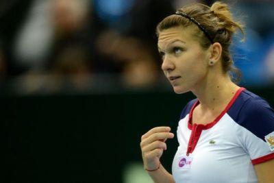 EXCELENT! Simona Halep s-a calificat in cincea finala din 2013 si va urca pe locul 15 WTA! Cu cine se bate pentru trofeu la Moscova: