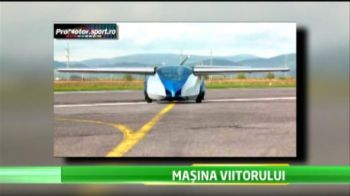 Incredibil! Masina care zboara cu 220km/h a devenit realitate! Cat costa BIJUTERIA: VIDEO