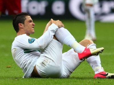 Prima reactie a lui Cristiano Ronaldo dupa LOVITURA primita aseara! Ancelotti l-a schimbat imediat, fanii au inghetat! Ce a patit portughezul: