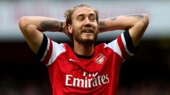 A PROMIS, apoi s-a tinut de cuvant! Cel mai nebun fan al lui Arsenal a facut un gest dubios dupa ce Bendtner a marcat! A pus si poza, sa vada TOATA lumea! FOTO