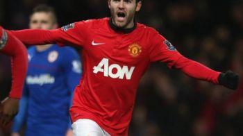VIDEO Moment ISTORIC pe Old Trafford! Debutul lui Mata coincide cu o performanta UNICA realizata de United in Premier League! Clasamentul in care e invincibila: