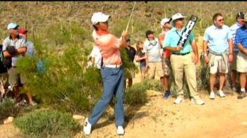 Cel mai bun jucator de golf din lume era sa bage in spital un spectator la un turneu in Arizona VIDEO