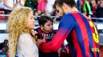 Pique n-are nicio sansa sa-si faca fiul fotbalist! Shakira l-a luat deja in studioul de inregistrati, unde micutul face spectacol :)