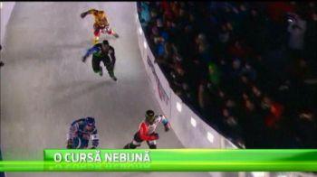 Imagini fabuloase la Mondialul de patinaj viteza pe teren accidentat! 110.000 de fani s-au adunat sa vada asta