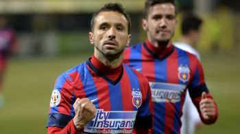 Steaua si-a ales inlocuitorul pentru Piovaccari si Kapetanos! Sanmartean il cheama in Ghencea, atacantul ar putea ajunge gratis!