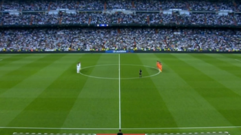 Lacrimi pentru un jucator de la Real! Imagini EMOTIONANTE inainte de Real Madrid - Valencia