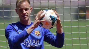 """Barcelona si-a prezentat noul portar! Ter Stegen s-a fotografiat pentru prima data pe Camp Nou: """"Barca e cea mai mare provocare!"""""""