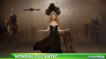 Tigri, elefanti, Shakira, Messi si Neymar. Nebunie in ultimul videoclip pentru Mondialul din Brazilia! Va place melodia?