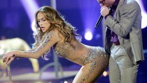 Mitul perfectiunii divei Jennifer Lopez, demontat. Detaliul care se observa doar cand posteriorul ei e fotografiat de aproape