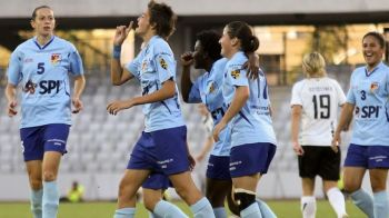 Clujul se bucura din nou de farmecul Champions League! Cea mai importanta competitie de fotbal feminin, in Romania: