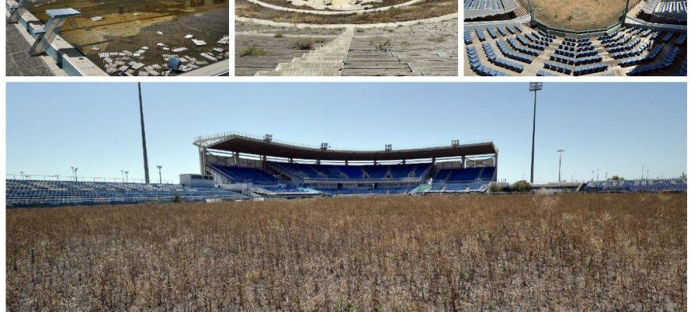 FOTO INCREDIBIL! Ruinele moderne din Grecia! Cum arata arenele de 9 MILIARDE, parasite la 10 ani dupa Jocurile Olimpice!