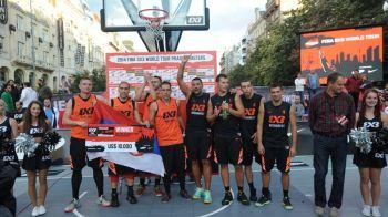 Suntem finalisti!!! Romanii s-au calificat in finala mondiala de la Tokyo, la baschet 3 la 3, dupa ce i-au batut pe rusi