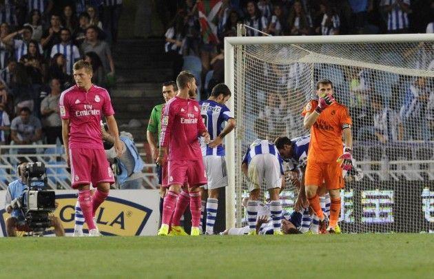 CE NEBUNIE! Real Madrid ia bataie cu 4-2 de la Sociedad, dupa ce a condus cu 2-0! Vezi ce s-a intamplat