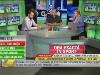 Marian Iancu la Sport.ro:  Dinu Gheorghe a contat la Petrolul - CFR!  Reactia lui Razvan dupa arbitrajul lui Coltescu: