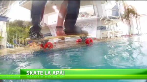 Americanii au inventat cel mai bizar sport: se dau cu placa pe...sub apa! Schemele pe care le reusesc sunt foarte tari :)