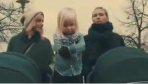 Video fantastic. Cum a reusit aceasta fetita sa imite cel mai tare spagat al lui Van Damme