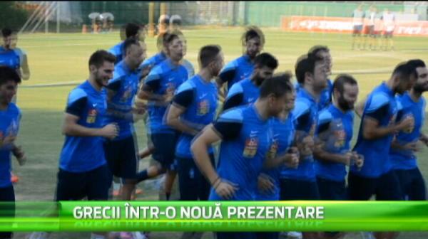 Ramasi fara veteranii Karagounis si Katsouranis, grecii vor sa ne atace in preliminariile EURO cu un fotbalist din liga SECUNDA