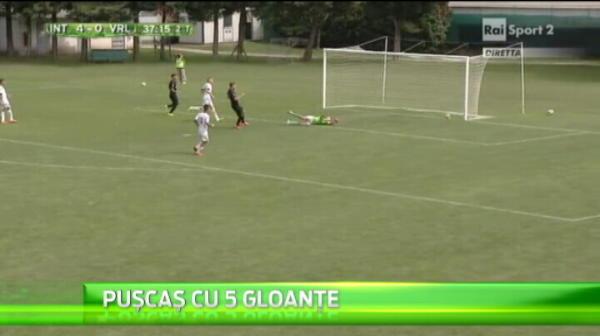 Puscas e Messi al Romaniei de la tineret ! A venit la nationala, dupa ce a dat 5 goluri la tineretul Interului.