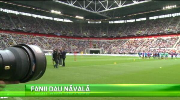 45 de mii de fani au venit la primul antrenament al Germaniei, dupa castigarea titlului mondial! VIDEO