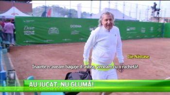 """Ilie Nastase a facut show la Brasov: """"Ce dracu ati venit cu alea?!"""" Schimb savuros de replici cu Andrei Pavel"""