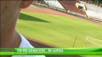 Un suedez de la echipa de handbal a lui Dinamo ii cere lui Stoican sa-l testeze la fotbal! VIDEO