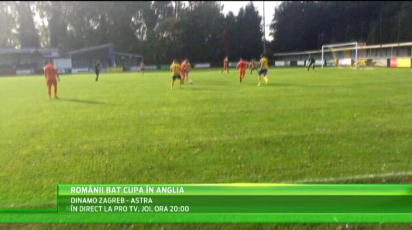 FC Romania UIMESTE Anglia! Echipa romanilor a ajuns in turul 4 al Cupei Angliei! VIDEO