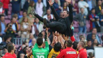 Marca sarbatoreste ziua lui SimeONE! Antrenorul care le-a distrus pe Barca si Real a fost la un pas de un succes ISTORIC marti