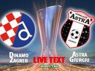 Sa uitam repede dezAstra de la Zagreb: Dinamo 5-1 Astra! Chitu a marcat golul pentru romani! VIDEO