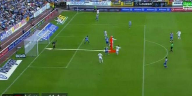 URIASUL Cristiano Ronaldo! Starul Realului a sarit la 2.6metri la un gol in MACELUL cu Deportivo si a intrat in istorie! VIDEO