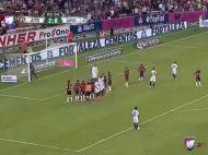 Ro0o0onaldinho0o0o0o!!! Golul pentru care comentatorii din Mexic au ramas fara AER! Cum a marcat! VIDEO