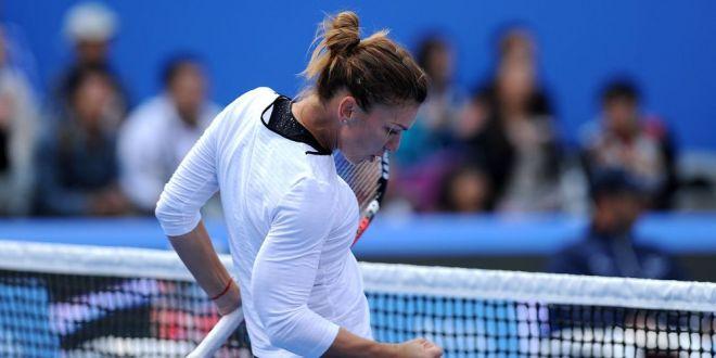 Simona Halep - Andrea Petkovici, joi, de la 7.30! Simona joaca doua meciuri intr-o zi! Vezi programul