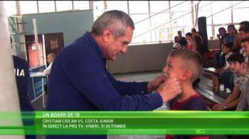 Titi Prosop l-a facut mare pe Doroftei, iar acum se lauda ca l-a gasit pe Messi din box! VIDEO
